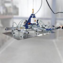 Dispozitive cu vacuum pentru tabla
