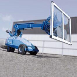 Dispozitiv montare panouri sticla