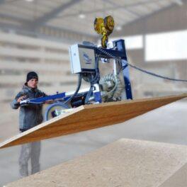 Manipulare OSB cu vacuum