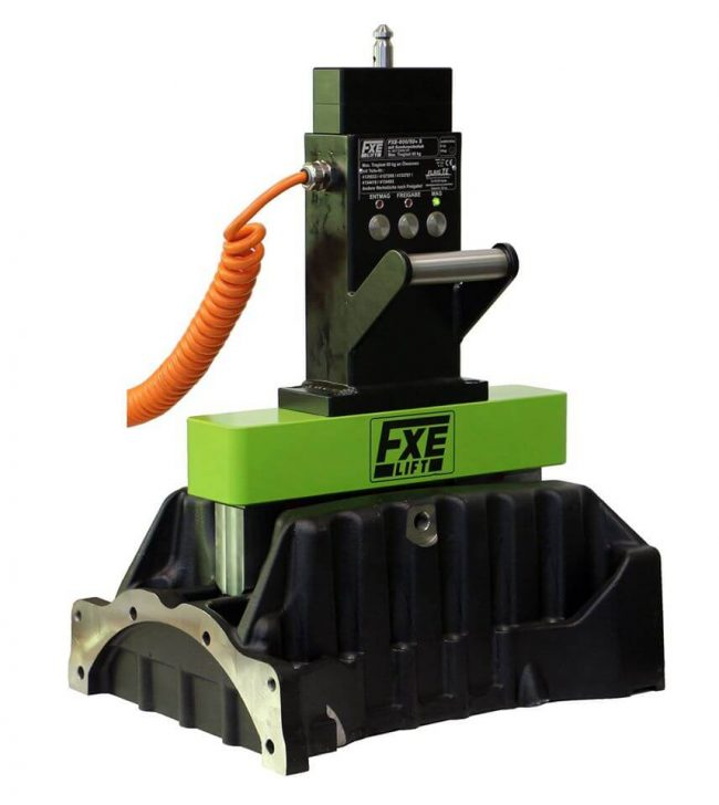 Magnet electro-permanent de ridicat piese lungi