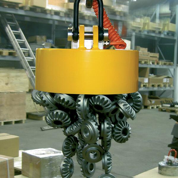 Electromagnet sortare piese magnetizabile
