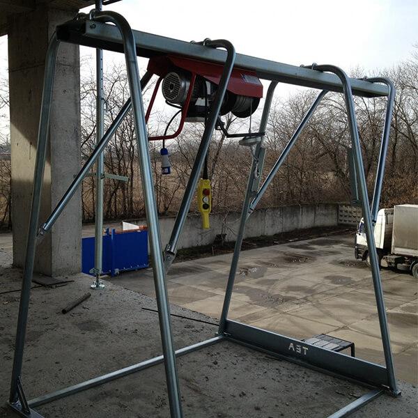 Electropalan santier 500 kg