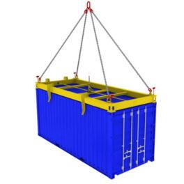 Grinzi pentru containere