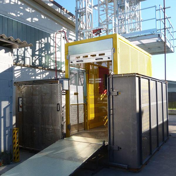 Platformă elevatoare 2000kg