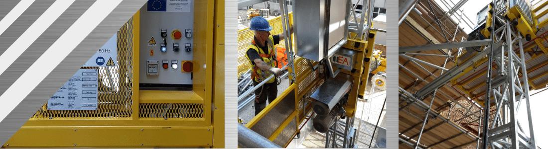 Lifturi de șantier pentru persoane și materiale