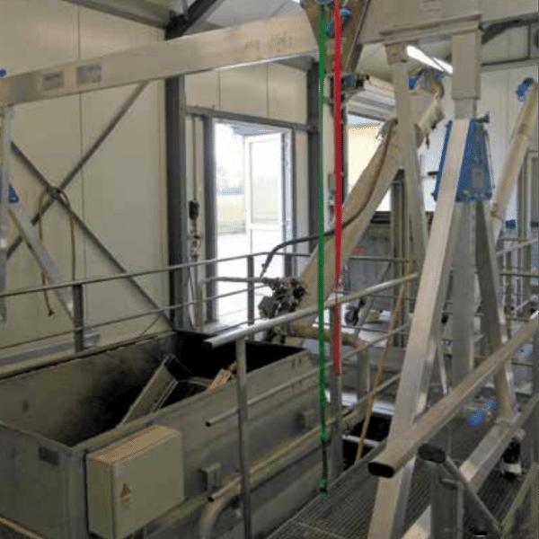 Macara portanta mobila mono-grinda 1000kg